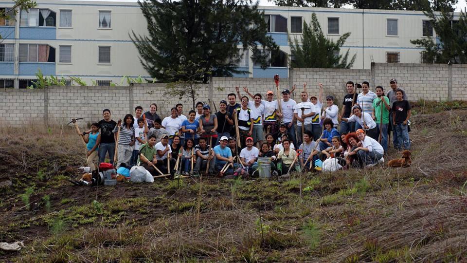 Plantemos 1000 Árboles - Siembra 2013 - Nimajuyú
